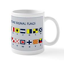 International Maritime Flag Signals Small Mug