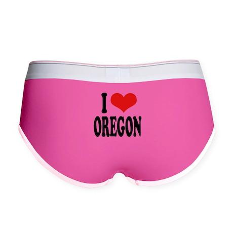 I Love Oregon Women's Boy Brief