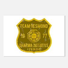 Team Desmond - Dharma 1977 Postcards (Package of 8