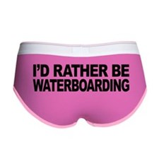 I'd Rather Be Waterboarding Women's Boy Brief