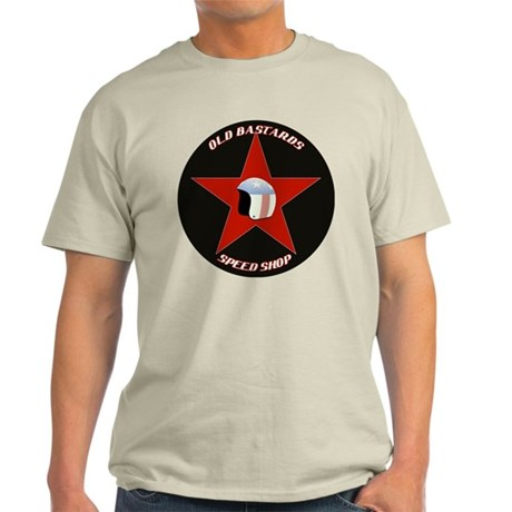 Old Bastards Speed Shop Light T-Shirt