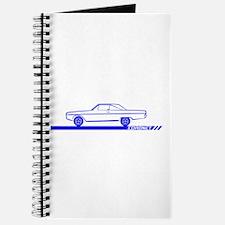 1966-67 Coronet Blue Car Journal
