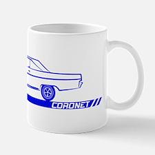 1966-67 Coronet Blue Car Mug