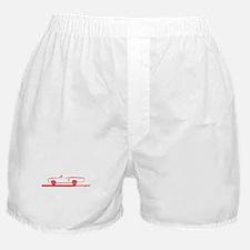 1968-69 Coronet Red Convertible Boxer Shorts