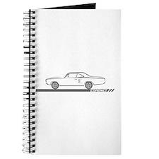 1968-69 Coronet Grey Car Journal