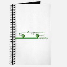 1968-69 Coronet Green Convertible Journal