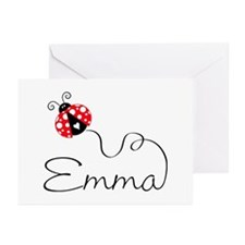 Ladybug Emma Greeting Cards (Pk of 20)
