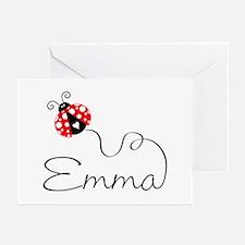Ladybug Emma Greeting Cards (Pk of 20)