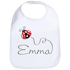 Ladybug Emma Bib