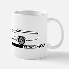 1968-69 Coronet Black Convert Mug