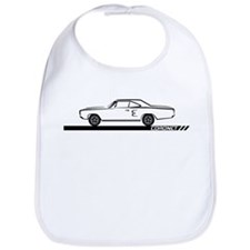 1968-69 Coronet Black Car Bib
