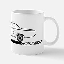 1968-69 Coronet Black Car Mug