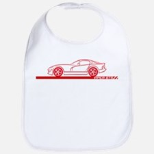 1996-02 Viper GTS Red Car Bib
