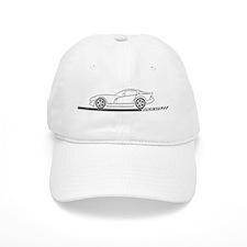 1996-02 Viper GTS Grey Car Baseball Cap