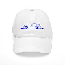 1996-02 Viper GTS Blue Car Baseball Cap