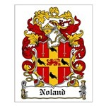 Noland Coat of Arms Small Poster