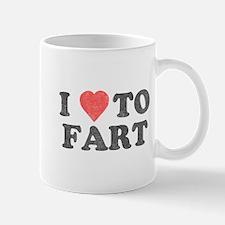 I Love To Fart Mug