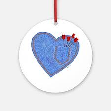 Cupid's Pocket Ornament (Round)
