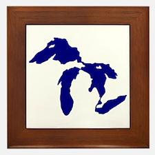Great Lakes Framed Tile