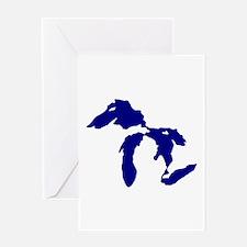 Great Lakes Greeting Card