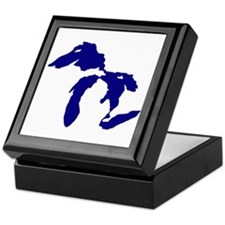 Great Lakes Keepsake Box