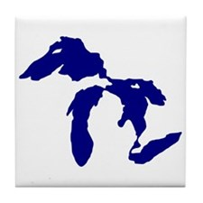 Great Lakes Tile Coaster