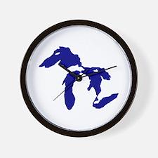 Great Lakes Wall Clock