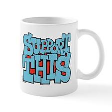 Support This X 2 Mug
