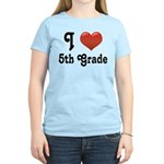 Big Red Heart 5th Grade Women's Light T-Shirt