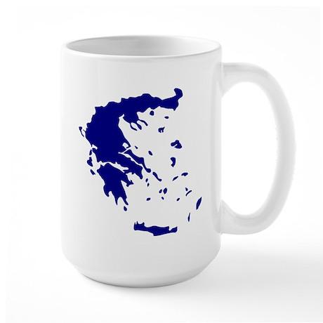 Greece Large Mug