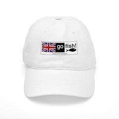 go fish! Ball Baseball Cap