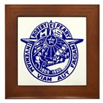 School Seal Framed Tile