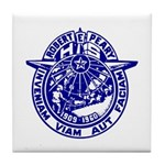 School Seal Tile Coaster