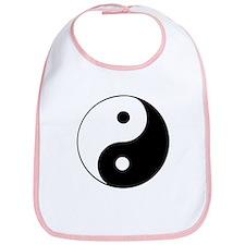 Cute Yin yang Bib
