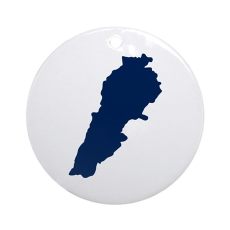 Lebanon Ornament (Round)