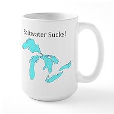Saltwater Sucks! Mug