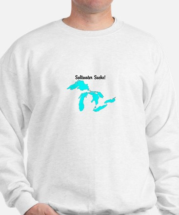 Saltwater Sucks! Sweatshirt