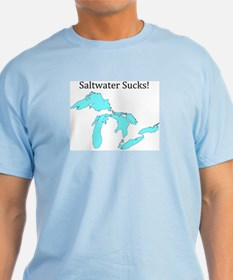 Saltwater Sucks! T-Shirt