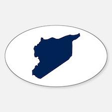 Syria Sticker (Oval 50 pk)