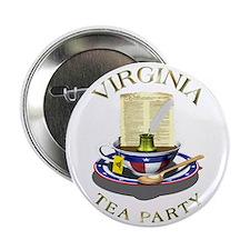 """TEA Party - Virginia 2.25"""" Button"""