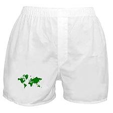 World map Boxer Shorts
