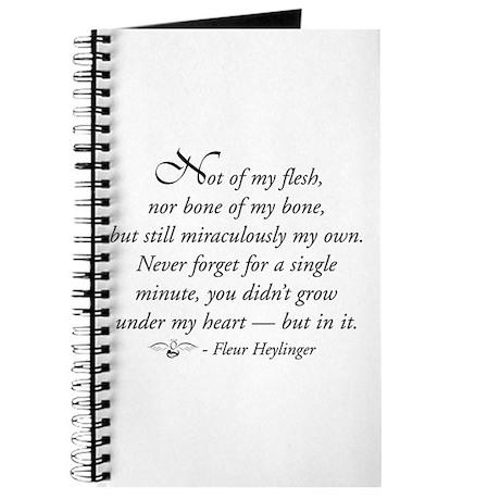 Not of my flesh Journal