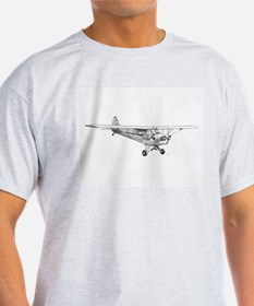 Piper Cub pencil image by RKS T-Shirt