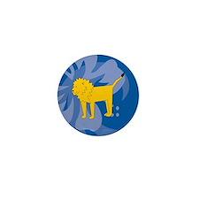 Lion Mini Button (10 pack)