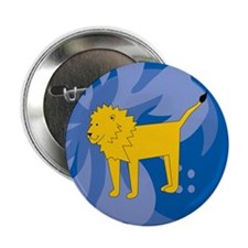 "Lion 2.25"" Button (10 pack)"