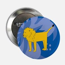 """Lion 2.25"""" Button"""
