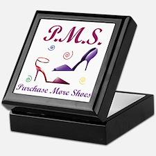 P.M.S. - Purchase More Shoes Keepsake Box