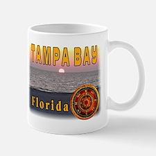 Tampa Bay Florida compass ros Mug