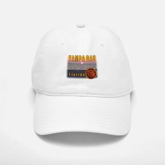 Tampa Bay Florida compass ros Baseball Baseball Cap