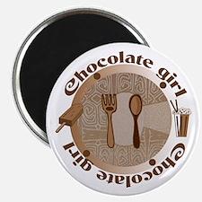 Chocolate girl Magnet